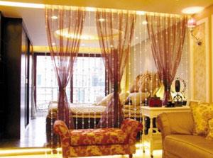 客厅和卧室隔断效果图